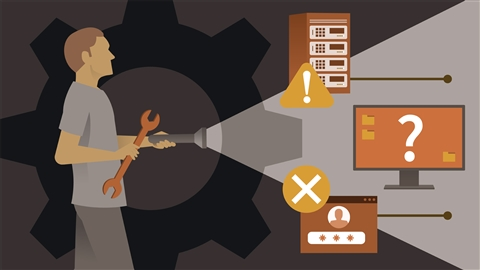 course illustration for Windows 10: Advanced Troubleshooting for IT Support