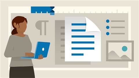 course illustration for Word Essential Training (Office 365/Microsoft 365)
