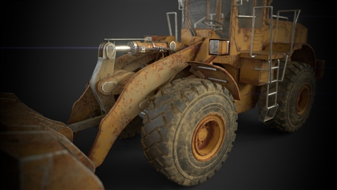 course illustration for Substance Painter 2018 Essential Training