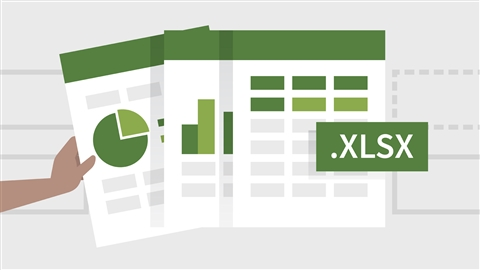course illustration for Learning Excel 2019