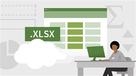 course illustration for Learning Excel Desktop (Office 365)