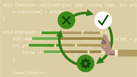 course illustration for Test-Driven Development in C++