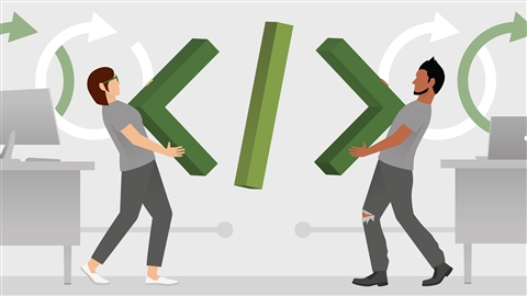 course illustration for Agile Software Development: Pair and Mob Programming