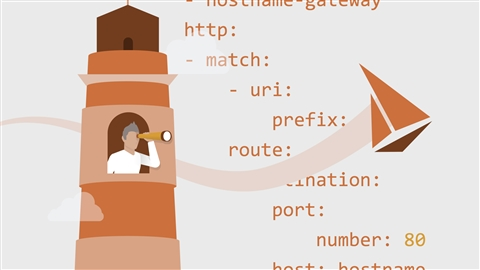 course illustration for Kubernetes: Service Mesh with Istio