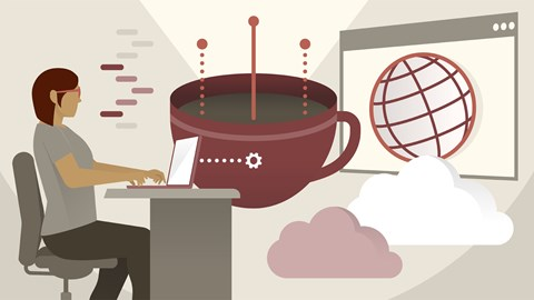 course illustration for Java EE: Web Services