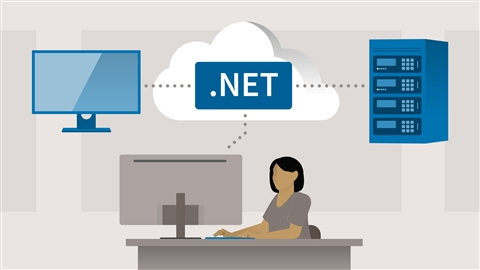 course illustration for Deploying ASP.NET Core Applications