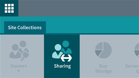 course illustration for Office 365: Provision SharePoint Online Site Collections