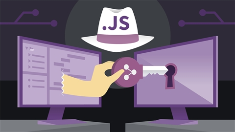course illustration for Ethical Hacking with JavaScript