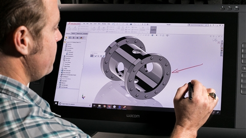 course illustration for SOLIDWORKS 2019 Essential Training