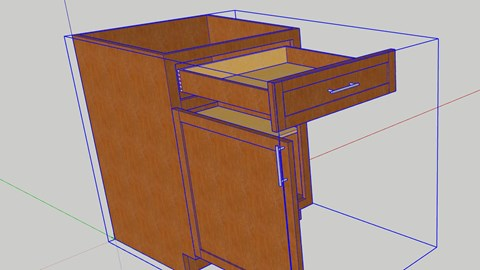 course illustration for SketchUp Pro: Dynamic Components