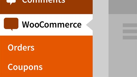 course illustration for WordPress Ecommerce: WooCommerce (2018)
