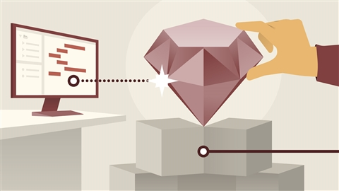 course illustration for Ruby Essential Training: 1 The Basics