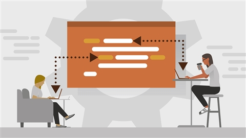course illustration for Learning GitHub