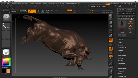 course illustration for ZBrush 4 Essential Training