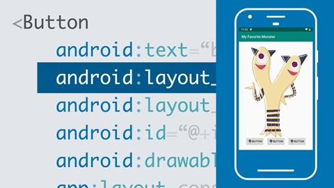 course illustration for Android Development Essential Training: The User Interface