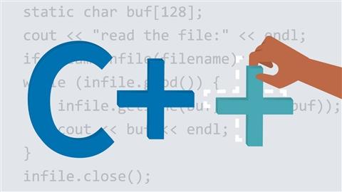 course illustration for C++ Essential Training