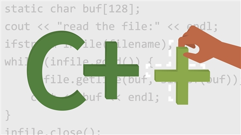 course illustration for C++ Essential Training (2018)