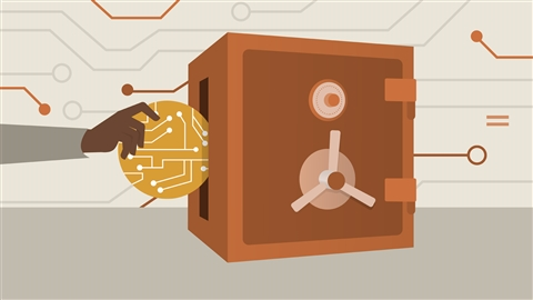 course illustration for Securing Cryptocurrencies