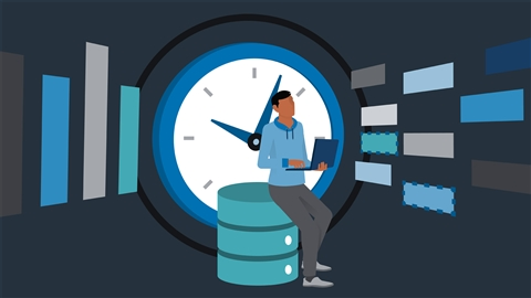course illustration for Advanced SQL for Data Science: Time Series