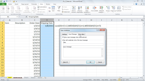 quick analysis tool excel 2010