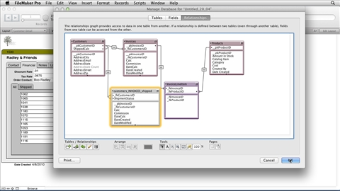 filemaker pro 12 essential training - Relational Database Design Software