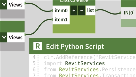 course illustration for Dynamo for Revit: Python Scripting