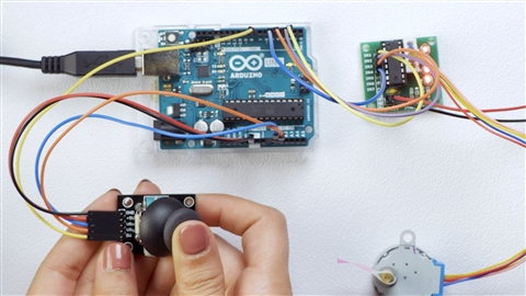 course illustration for Learning Arduino: Interfacing with Analog Devices