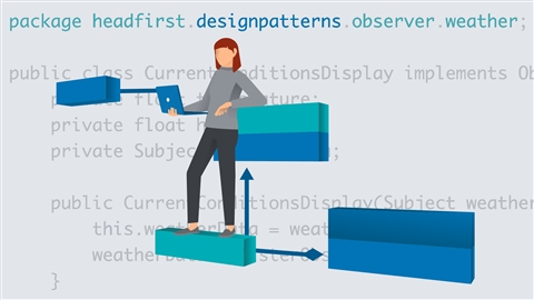 course illustration for Programming Foundations: Design Patterns