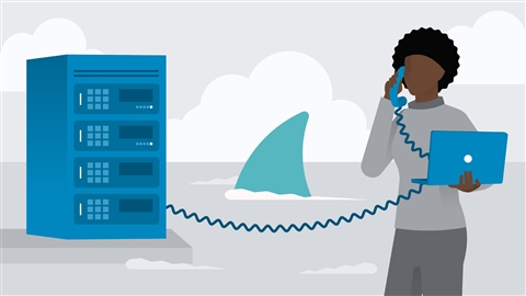 course illustration for Wireshark: VoIP
