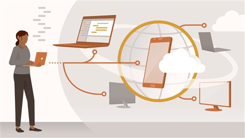 course illustration for Programming Foundations: APIs and Web Services