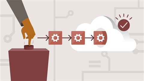 course illustration for AWS for Developers: Deploying Your Application to the Cloud