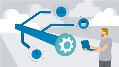 course illustration for Azure Event Grid