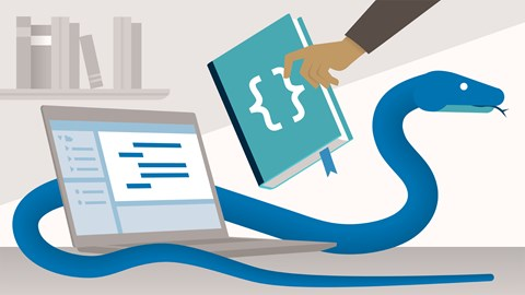 course illustration for Python Standard Library Essential Training