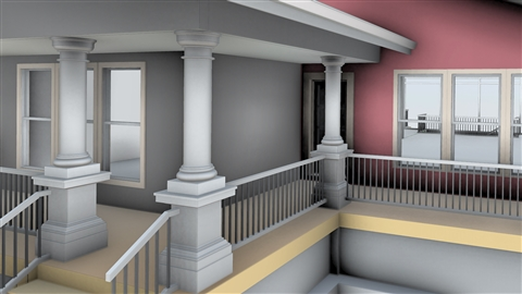 course illustration for Revit Architecture: Designing a House