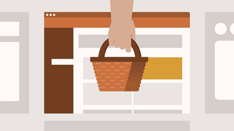 course illustration for WordPress: Ecommerce