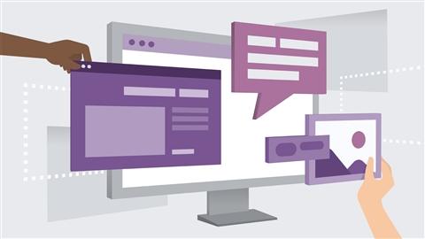 course illustration for Building Laravel and Vue.js Web Apps