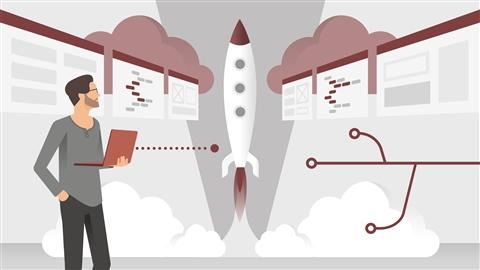 course illustration for Deploying Django Apps: Make Your Site Go Live