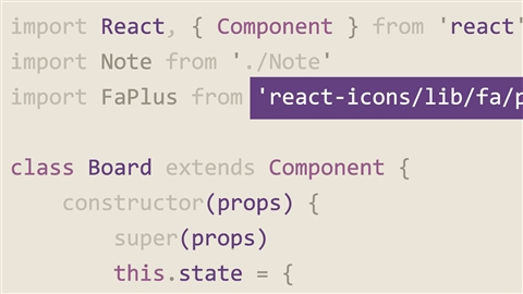 course illustration for Learning React.js (2019)