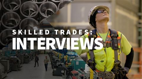 course illustration for Skilled Trades: Interviews
