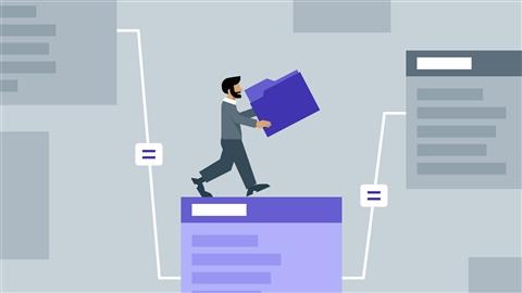 course illustration for FileMaker Pro: Relational Database Design
