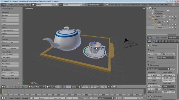 How To Use Blender 2 6 To Create And Edit Mesh Objects