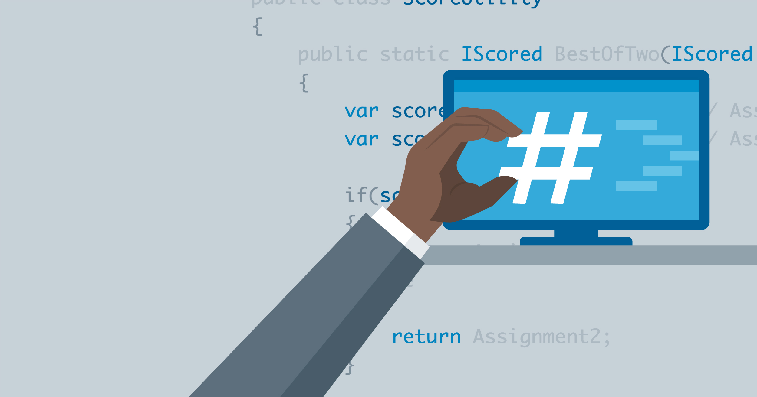 hero image for Learning Path: Become a C# Developer