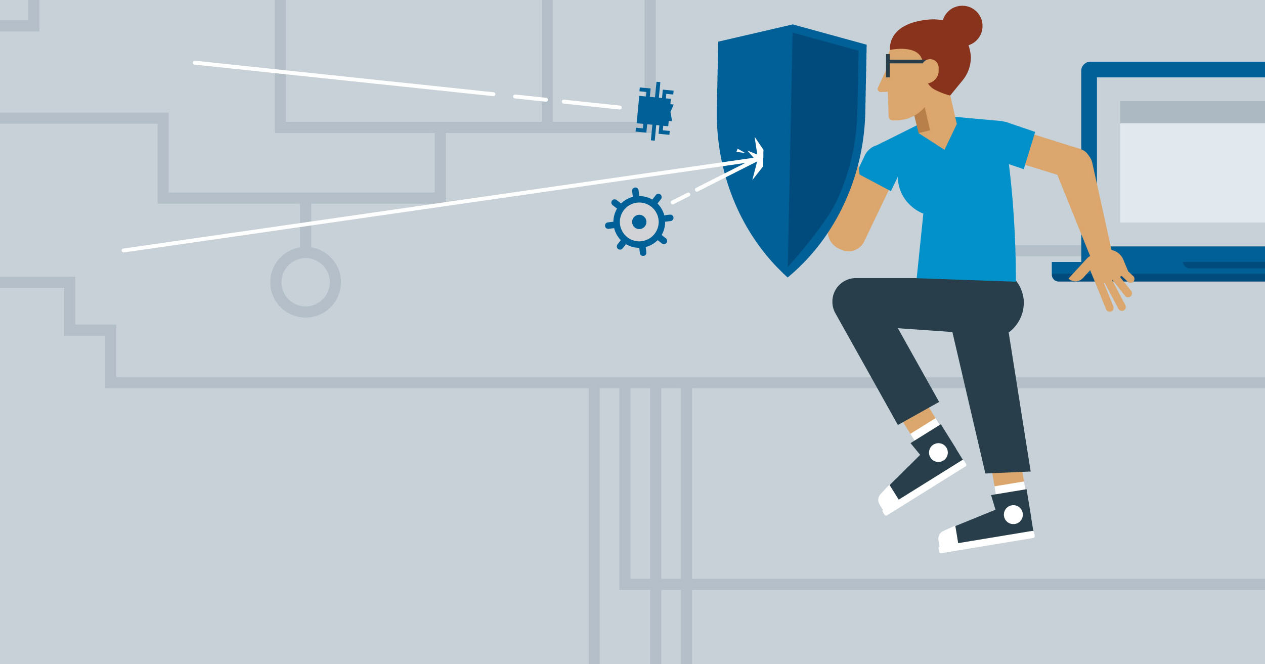 hero image for Learning Path: Become a CompTIA Security+ Certified Security Professional (SY0-601)