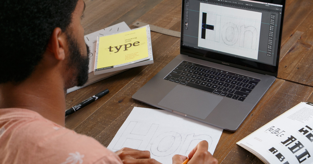 hero image for Learning Path: Design a Typeface