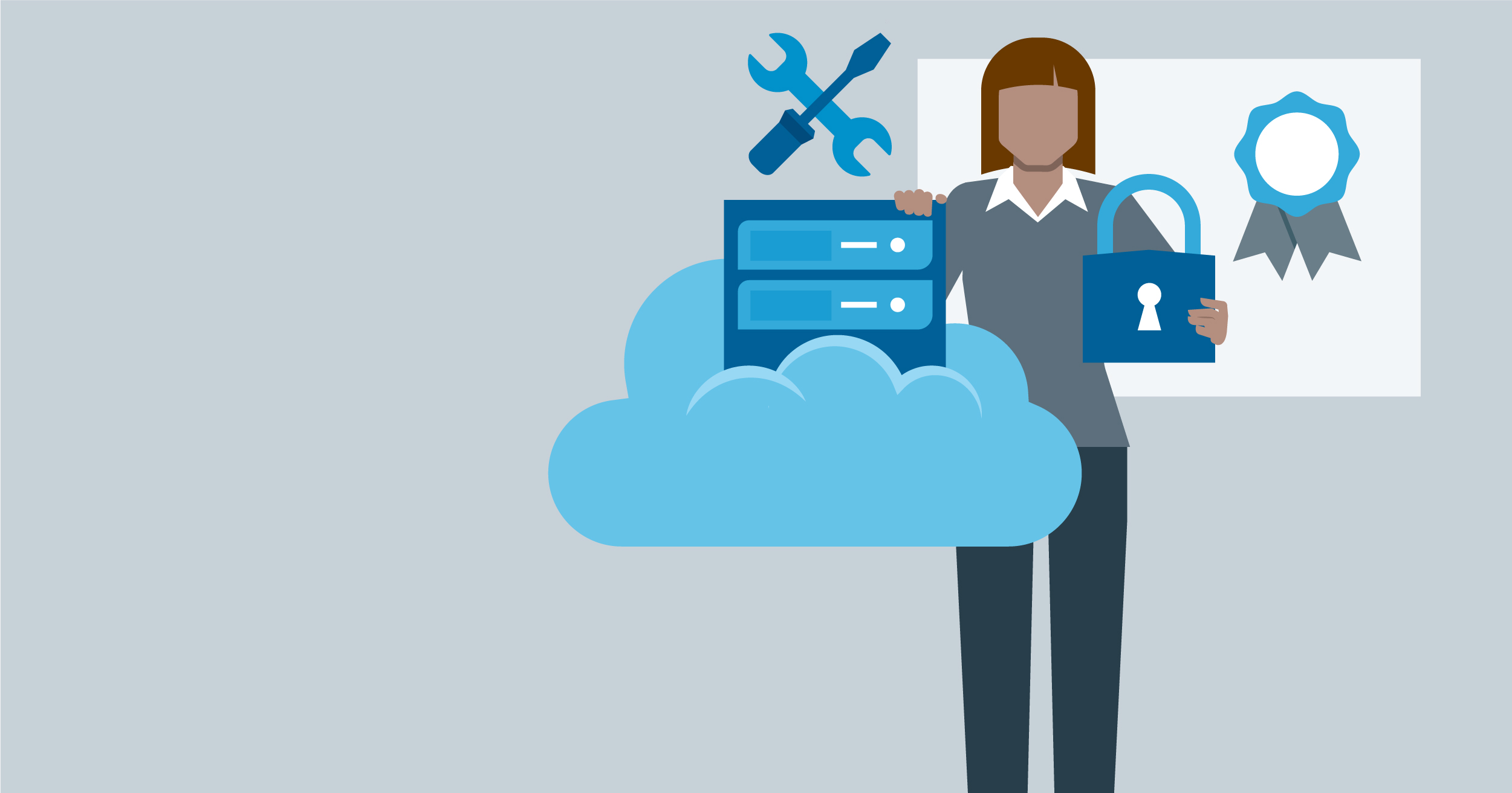 hero image for Learning Path: Prepare for the CompTIA Cloud+ (CV0-002) Certification