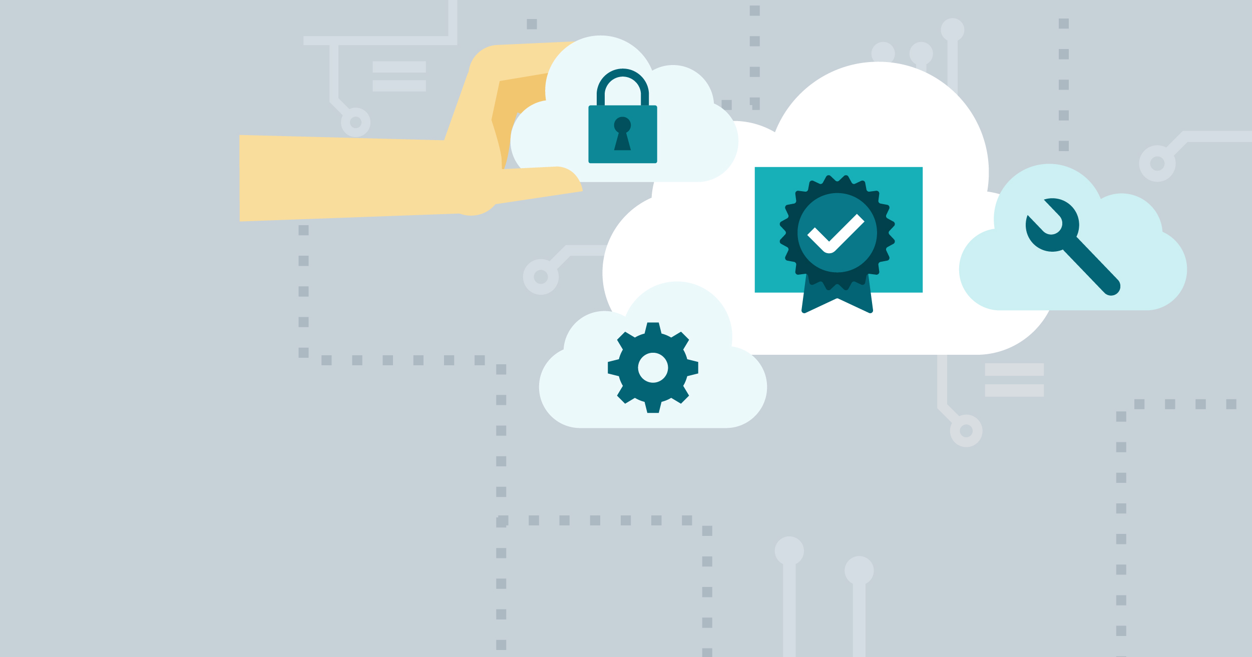 hero image for Learning Path: Prepare for the MTA: Microsoft Cloud Fundamentals (98-369) Exam