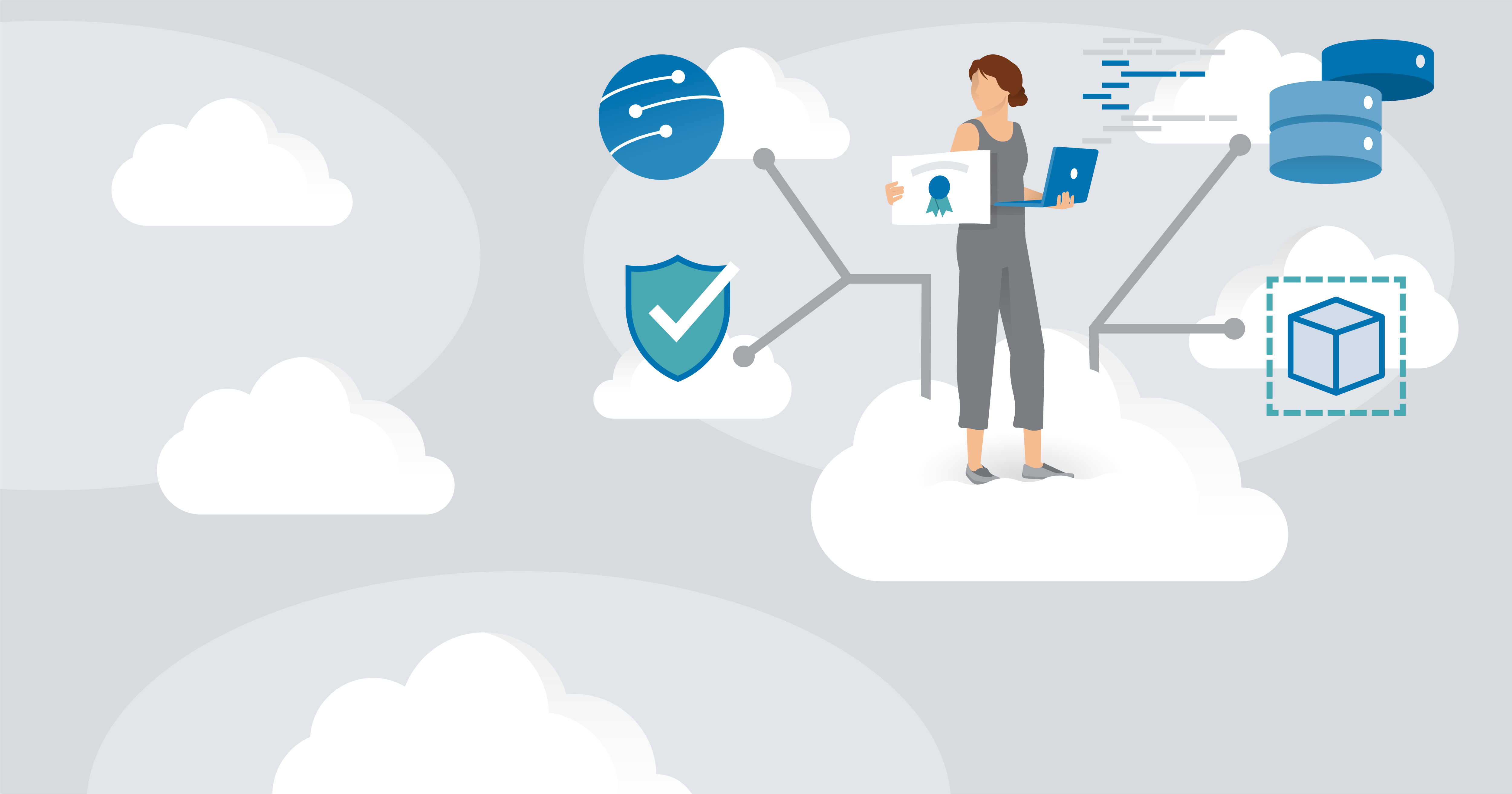 hero image for Learning Path: Prepare for the Developing Solutions in Microsoft Azure Exam (AZ-204)