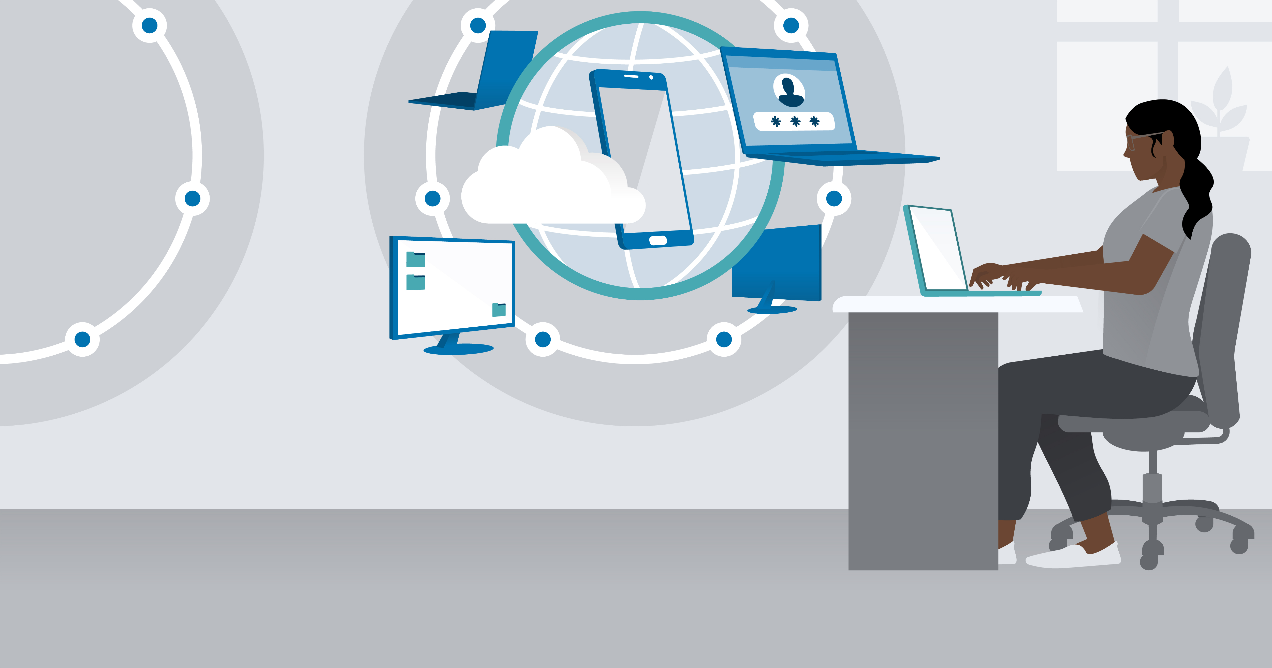 hero image for Learning Path: Succeed as a Remote IT Administrator