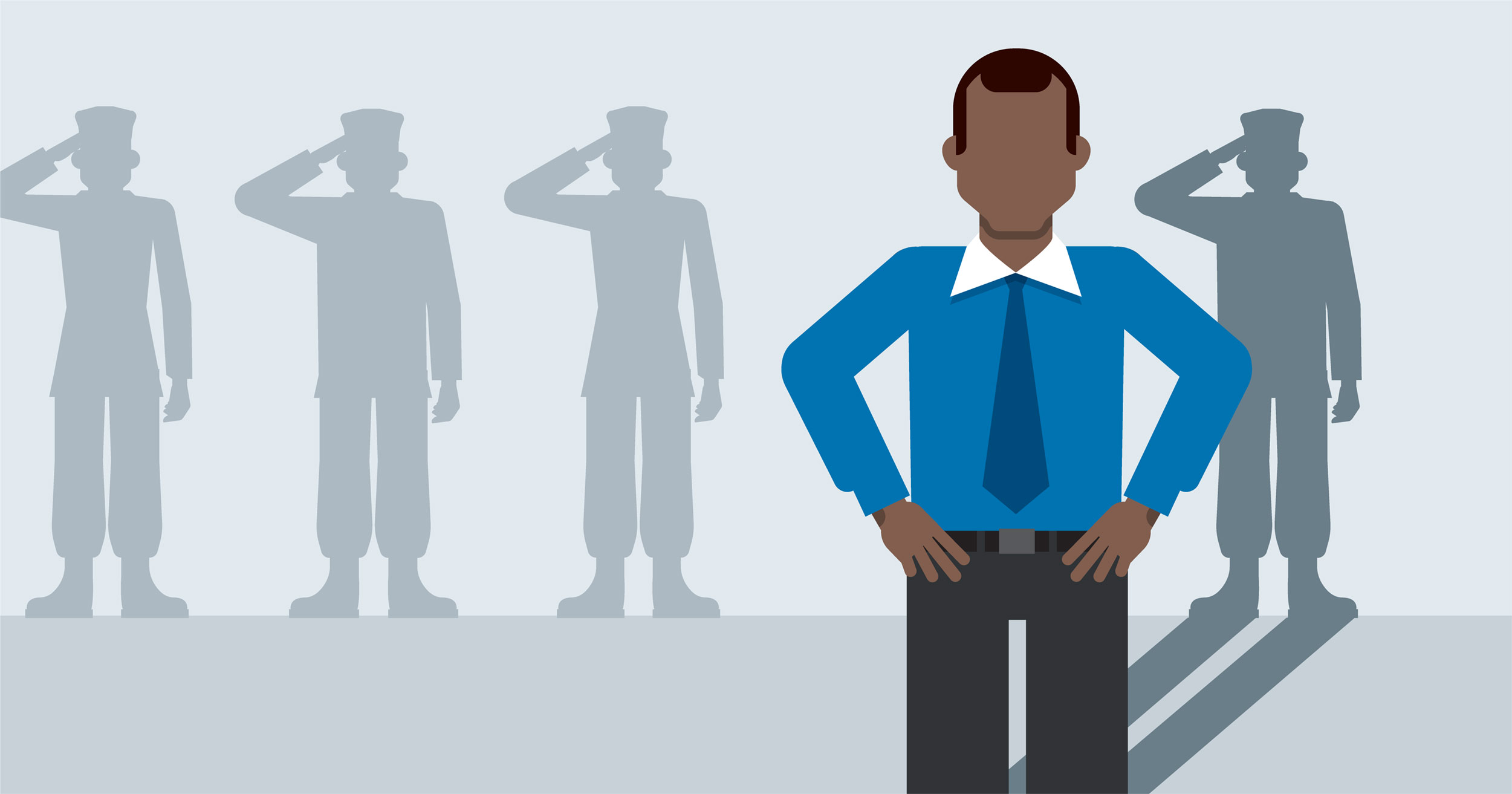 hero image for Learning Path: Transition from Military to Civilian Employment