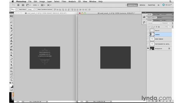 Creating a custom panel end mark: Lightroom 4 Essentials: 01 Organizing and Sharing with the Library Module
